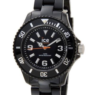 ICE WATCH SD.BK.S.P.12 アイスソリッド スモール ブラック レディース 腕時計 000612 ICE000612