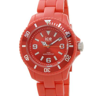 ICE WATCH SD.RD.S.P.12 アイス ソリッド 36mm レッド レディース 腕時計 000618 ICE000618