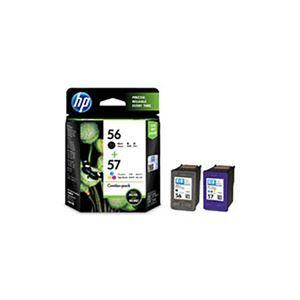 その他 (業務用3セット) 【純正品】 HP インクカートリッジ/トナーカートリッジ 【CC629AA HP56/57 ブラック ・ カラーパック】 ds-1911462
