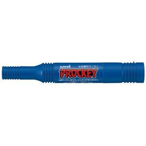 その他 (業務用10セット) 三菱鉛筆 プロッキー PM150TR.33 太細 青 10本 ds-1913772