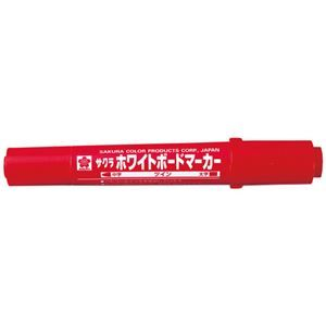 その他 (業務用10セット) サクラクレパス ホワイトボードマーカーツイン WBK-T赤10本 ds-1913786