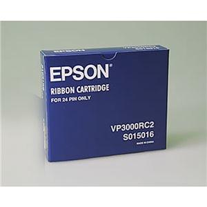 その他 (業務用10セット)【純正品】 EPSON エプソン インクカートリッジ/トナーカートリッジ 【VP3000RC2 BK ブラック】 リボンカートリッジ ds-1927018