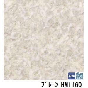 その他 サンゲツ 住宅用クッションフロア プレーン 品番HM-1160 サイズ 182cm巾×10m ds-1920737