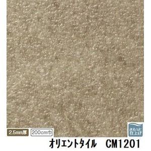 その他 サンゲツ 店舗用クッションフロア オリエントタイル 品番CM-1201 サイズ 200cm巾×5m ds-1921022