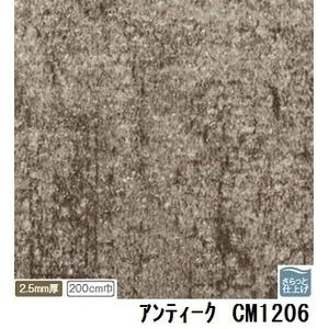 その他 サンゲツ 店舗用クッションフロア アンティーク 品番CM-1206 サイズ 200cm巾×7m ds-1921074