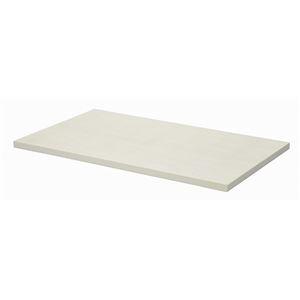 その他 テーブルキッツ テーブル用天板 【Mサイズ ホワイト】 幅120cm×奥行75cm×高さ3.5cm メラミン製【代引不可】 ds-1922686