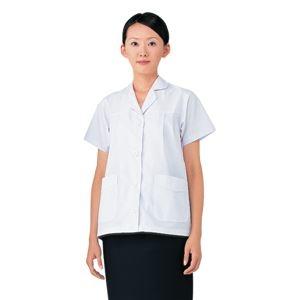 当店は最高な サービスを提供します 特売 その他 workfriend 調理用白衣女子丸衿付半袖 LLサイズ SKA327 ds-1926101