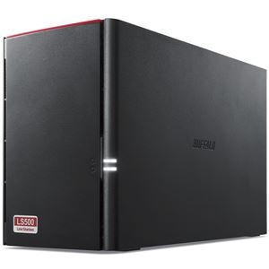 その他 バッファロー LinkStation for SOHO LS520DNBシリーズ NAS用HDD搭載2ドライブNAS 3年保証 4TB LS520DN0402B ds-1892773