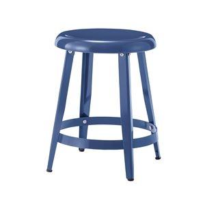 その他 スチール製スツール/丸椅子 【ブルー】 直径36cm×高さ45cm PC-65BL 〔インテリア家具 ディスプレイ用品 什器〕 ds-1937551