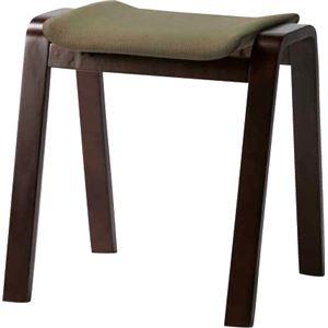 その他 (4脚セット) スタッキングスツール/腰掛け椅子 グリーン TSC-117GR ds-1943864