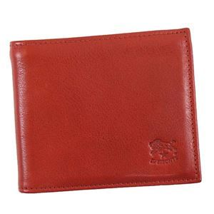 その他 IL BISONTE(イルビゾンテ) 二つ折り財布(小銭入れ付) C0817 245 RUBY RED ds-1942794