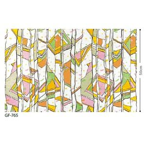 その他 ステンドグラス 飛散低減ガラスフィルム サンゲツ GF-765 91.5cm巾 5m巻 ds-1942575