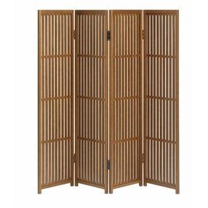 その他 杉天然木製 パーテーション/衝立 【4連】 幅30×高さ121cm×4曲 木製 日本製 『趣スクリーン』【代引不可】 ds-1943056