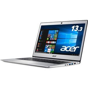 その他 Acer Swift 1 SF113-31-A14Q/S (Celeron N3350/4GB/128GBeMMC/ドライブなし/13.3/Windows 10 Home(64bit)/APなし/ピュアシルバー) SF113-31-A14Q/S ds-1945562