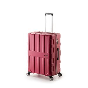 その他 大容量スーツケース/キャリーバッグ 【パープリッシュピンク】 96L 軽量 アジア・ラゲージ 『MAX BOX』 手荷物預無料最大サイズ ds-1950608