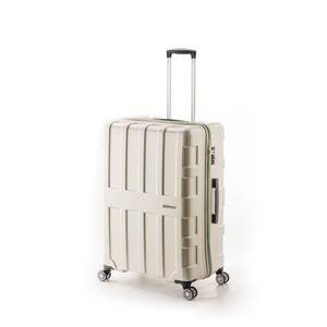 その他 大容量スーツケース/キャリーバッグ 【パールホワイト】 96L 軽量 アジア・ラゲージ 『MAX BOX』 手荷物預け無料最大サイズ ds-1950609