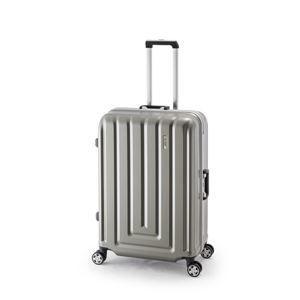 その他 スーツケース/キャリーバッグ 【カーボンシルバー】 82L ダイヤル式 TSAロック アジア・ラゲージ 『MAX SMART』 ds-1950619