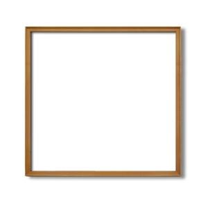 その他 【角額】高級木製正方形額・壁掛けひも・アクリル付き ■9787 600角(600×600mm)「チーク」 ds-1951862