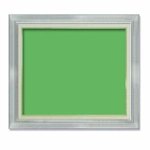 その他 【油額】油絵額・キャンバス額・金の油絵額・銀の油絵額 ■油絵額F15号(652×530mm)「シルバー」 ds-1951887