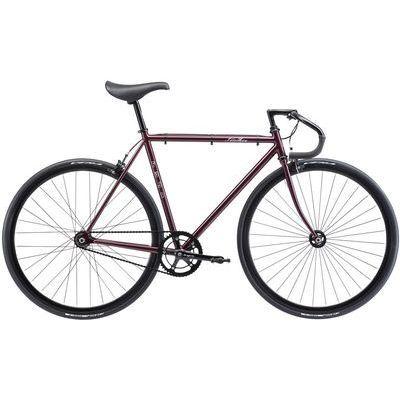 FUJI 2018年モデル フェザー(FEATHER) 58cm シングル ディープパープル ロードバイク 18FETRPR58【納期目安:1週間】