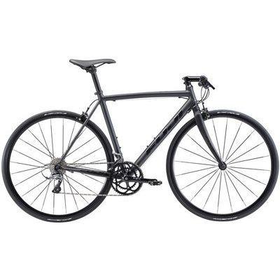 FUJI 2018年モデル ルーベオーラ(ROUBAIX AURA) 49cm 2x8speed マットブラック クロスバイク 18ROBABK49【納期目安:1週間】