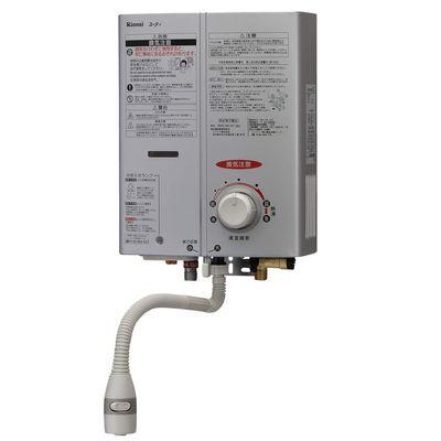 リンナイ ガス給湯機器 5号湯沸器(シルバー)(プロパンガス用LPG)【特定保守製品】 RUS-V51YT(SL)-LP