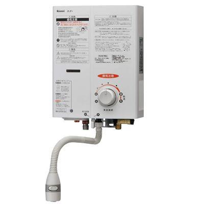 リンナイ ガス給湯機器 5号湯沸器(ホワイト)(プロパンガス用LPG)【特定保守製品】 RUS-V51YT(WH)-LP
