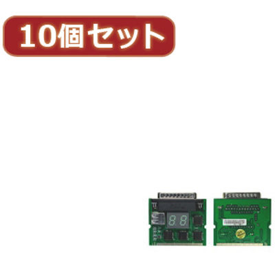 PCITEST3X10 【10個セット】 変換名人 miniPCI&パラレルポート対応