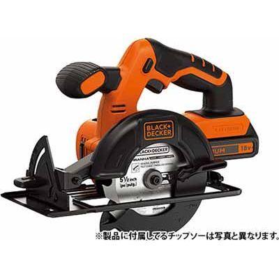 ブラック&デッカー 18V コードレス丸ノコ BDCCS18 4536178811118