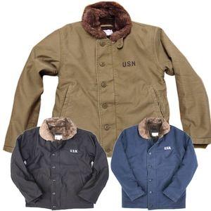 その他 米軍 「N-1」 DECK ジャケット JJ105YN ネイビー 40(XL)サイズ 【レプリカ】 ds-1283392