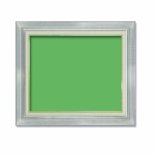 その他 【油額】油絵額・キャンバス額・金の油絵額・銀の油絵額 ■M10号(530×333mm)「シルバー」 ds-1988372