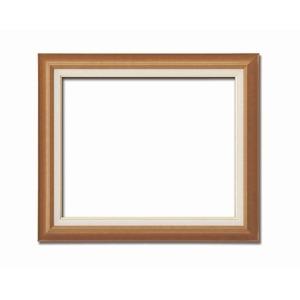 その他 【油額】油絵額・キャンバス額・木製油絵額・茶色油絵額 ■F15号(652×530mm)「チーク」 ds-1988965