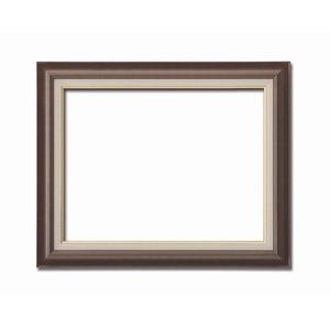 その他 【油額】油絵額・キャンバス額・木製油絵額・茶色油絵額 ■F15号(652×530mm)「ブラウン」 ds-1988966