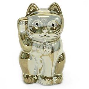 その他 Baccarat (バカラ) LUCKY CAT 表情が可愛い 日本生まれのラッキーモチーフ 「招き猫」(ゴールド) 2612997 ds-1992996