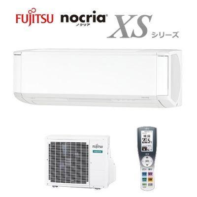 富士通ゼネラル エアコン (冷房時8~12畳/暖房時8~10畳・単相100V対応) nocriaXSシリーズ (ホワイト) AS-XS28H-W
