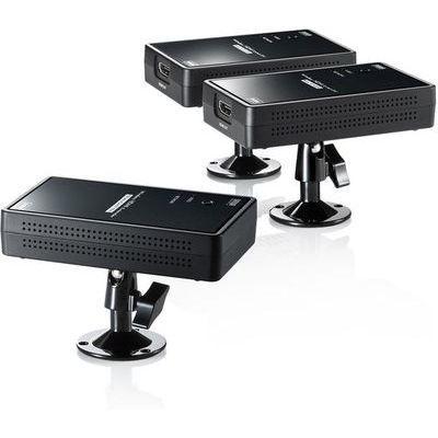 サンワサプライ ワイヤレス分配HDMIエクステンダー(2分配) VGA-EXWHD7
