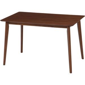 その他 ダイニングテーブル/リビングテーブル 【ダークブラウン】 幅120cm 木目調 『ジャーナル』【代引不可】 ds-1951549