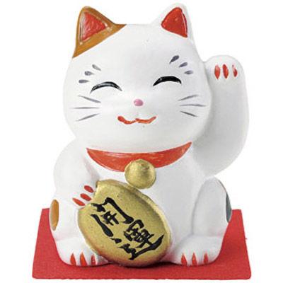 その他 【200個セット】愛知県瀬戸市産 招福招き猫 開運 MRTS-31660WH