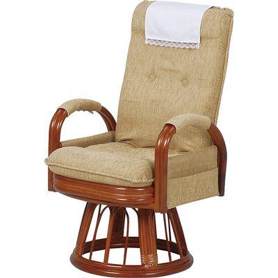 HAGIHARA(ハギハラ) ギア回転座椅子ハイバック RZ-974-Hi-LBR 2101748300