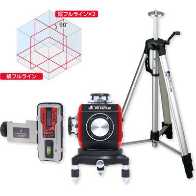 世界的に有名な  シンワ測定 レーザーロボXlineレッド受光器・三脚付 71617:激安!家電のタンタンショップ-DIY・工具