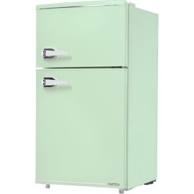 エスキュービズム 85L 2ドア レトロ 冷蔵庫 (ライトグリーン) WRD-2090G