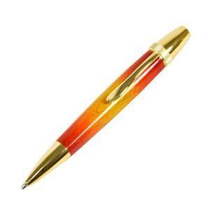 その他 日本製 Air Brush Wood Pen サンバースト ボールペン(ギター塗装)【パーカータイプ/芯:0.7mm】桜/チェリーウッド ds-1997694