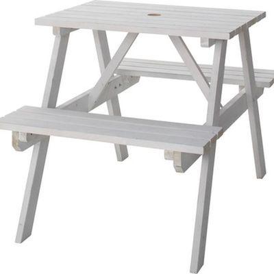 東谷(あづまや) テーブル&ベンチ W75 ODS-91WH