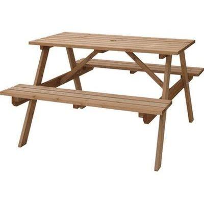 東谷(あづまや) テーブル&ベンチ W120 ODS-92LBR