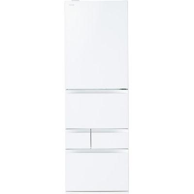 東芝 465L冷蔵庫VEGETA 右開き(クリアシェルホワイト) GR-M470GW-ZW