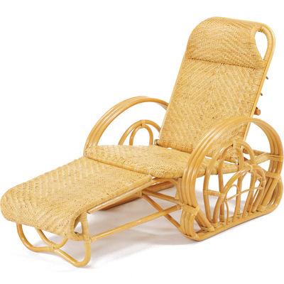 今枝商店 籐三つ折寝椅子 カバー付【沖縄・離島配達不可】 XA100M