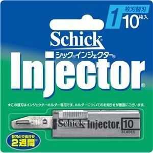 その他 (まとめ)シック(Schick) インジェクター替刃10枚入 【×12点セット】 ds-2010893