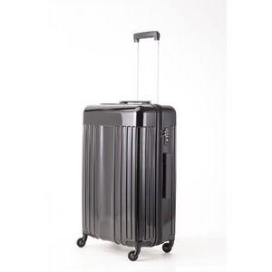 その他 スーツケース/キャリーバッグ 【Mサイズ ブラック】 60L 『マンハッタンエクスプレス ワーゲン』【代引不可】 ds-2024979