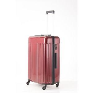 その他 スーツケース/キャリーバッグ 【Mサイズ レッド】 60L 『マンハッタンエクスプレス ワーゲン』 ds-2024981