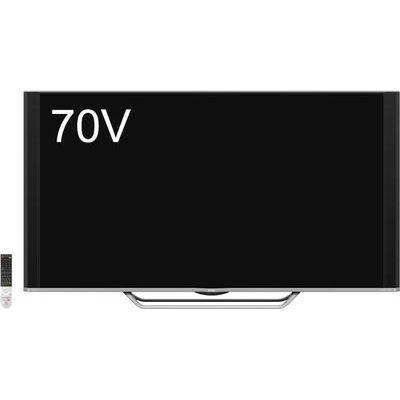 シャープ AQUOS 70V型 4K/HDR液晶テレビ 4T-C70AU1【納期目安:約10営業日】